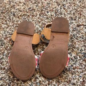 Cherokee Shoes - Target sandals!  Super cute